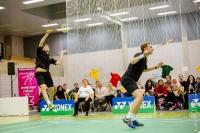 Badminton Länderspiel GER-DEN 2016